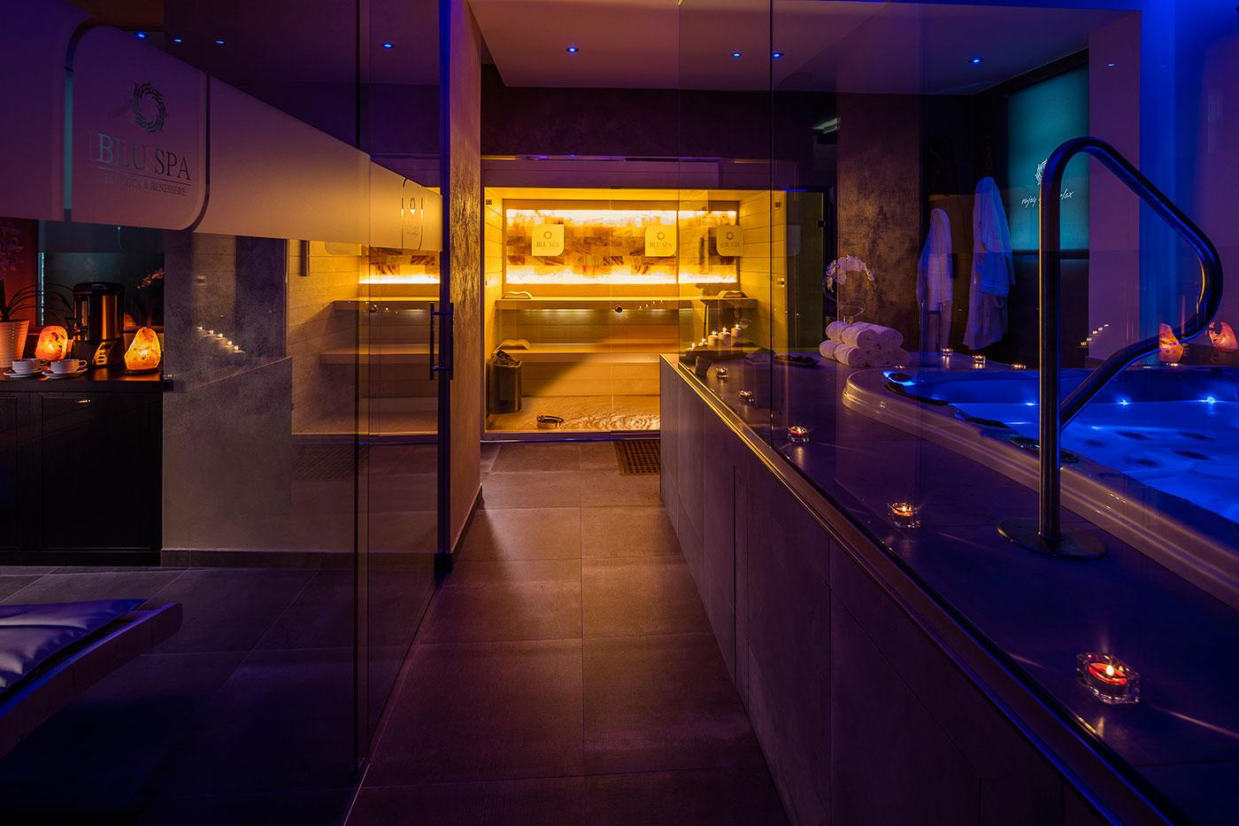 Bagno turco blu spa centro benessere - Benefici del bagno turco ...