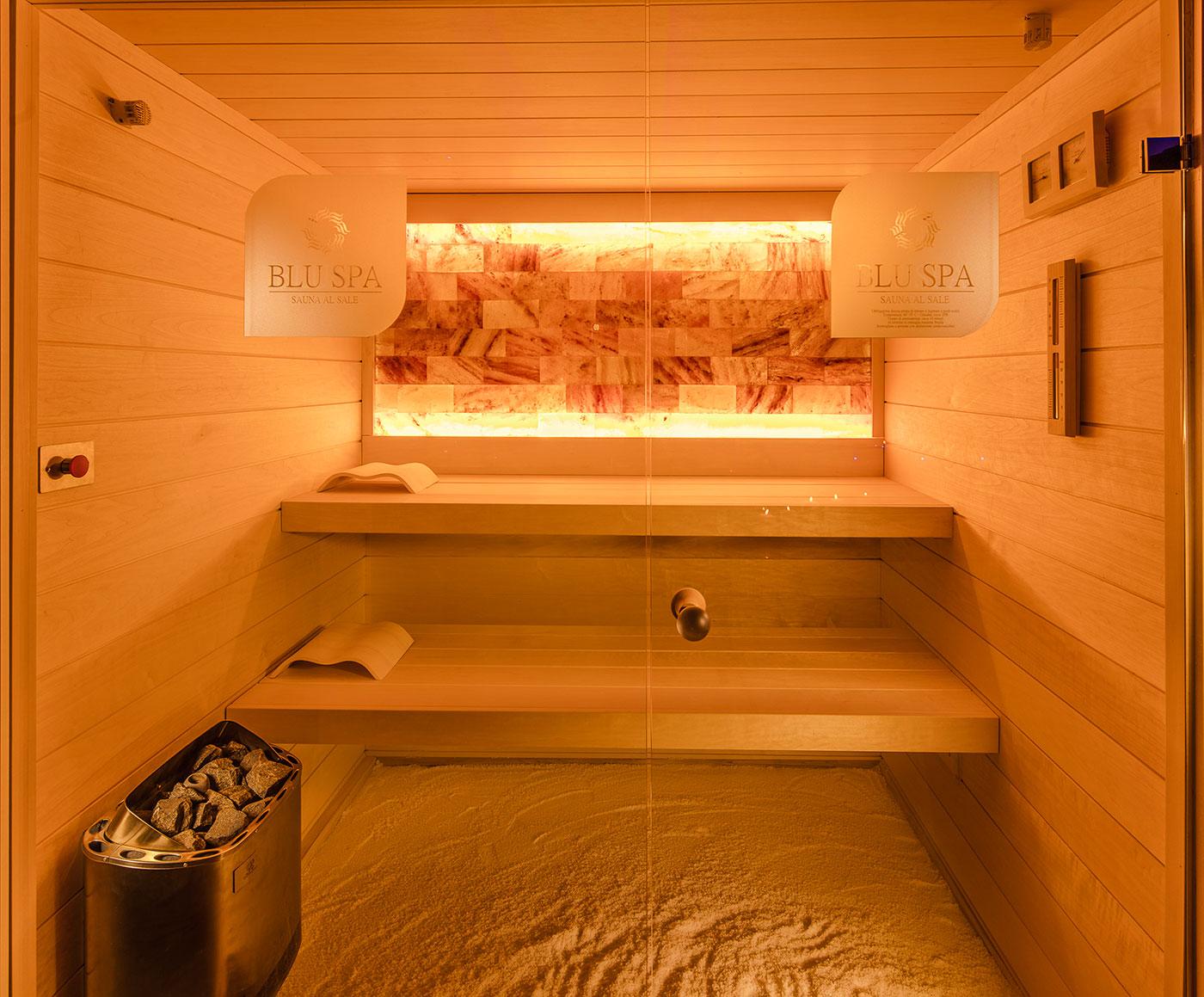 Sauna al Sale dell\' Himalaya - Blu Spa - Centro Benessere